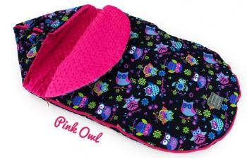 Floo for baby dětský fusak Pink OML