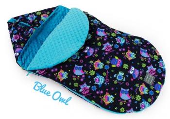 Floo for baby dětský fusak Blue OML
