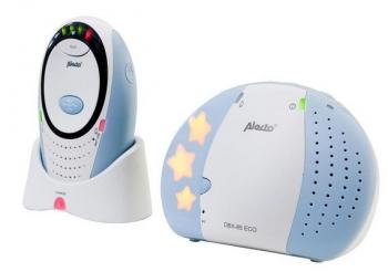 Alecto Eco DECT dětská chůvička se světýlkem DBX-85 LIMITED sv. modrá